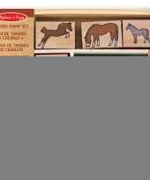 20 delige stempelset paarden trend