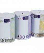 200 euro biljetten spaarpot 22 cm trend