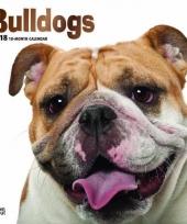 2018 kalender met bulldogs trend