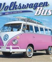 2018 kalender met volkswagen bus auto trend