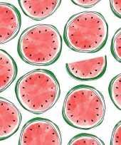 20x servetten met meloenen 33 cm trend