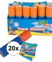 20x speelgoed waterpistool van foam 15 cm trend