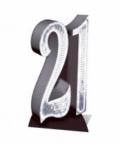 21 jaar versiering bord trend
