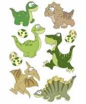 27x dinosaurus dieren stickers met 3d effect wiebeloogjes trend