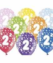 2e verjaardag ballonnen met sterretjes trend