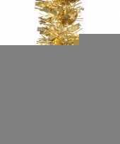 2x kerstboom folie slinger goud 200 cm trend