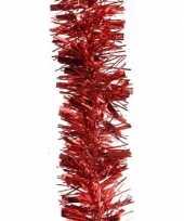 2x kerstboom folie slinger rood 200 cm trend