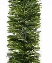 2x kerstslinger guirlande groen 270 cm trend