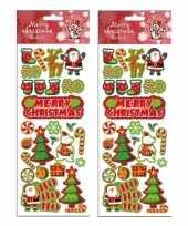 2x stickervellen kerst thema trend