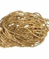2x stuks gouden koordje van 1 mm x 5 meter trend