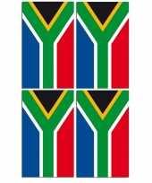 2x vlaggenlijnen zuid afrika 4 meter trend