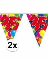 2x vlaglijn 35 jaar plastic 10 meter trend