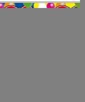 3 gekleurde slingers 21 jaar met sticker trend