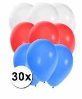 30 stuks party ballonnen in de russische kleuren trend