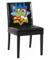 30e verjaardag stoel decoratie trend