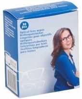 30x brillendoekjes brillenpoetsdoekjes trend