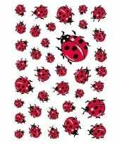 333x lieveheersbeestje dieren stickers trend