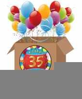 35 jarige feestversiering pakket trend