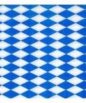 3x 100 servetten blauw met wit trend