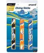 3x duikstokjes duikspeelgoed trend