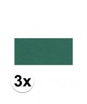 3x groene crepla plaat met 20 x 30 x 0 2 cm trend