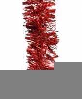 3x kerstboom folie slinger rood 200 cm trend