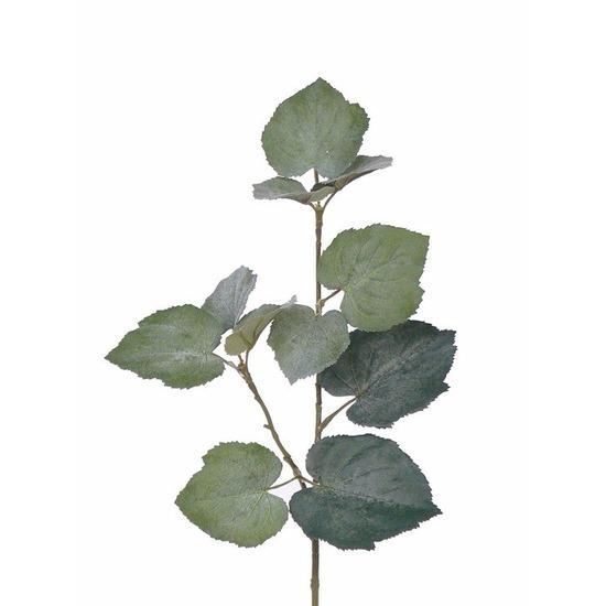 3x kunstplant linde tilia bladgroen takken 50 cm groen trend