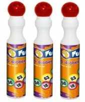 3x rode bingo stiften markers 43 ml trend