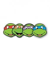 4 stuks ninja turtle maskers trend