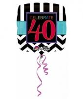 40 jaar geworden gevulde heliumballon trend