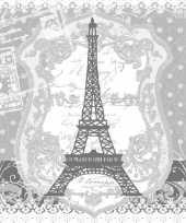 40x parijs frankrijk thema servetten 33 x 33 cm trend