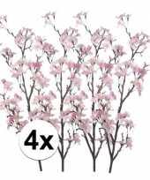 4x namaak appelbloesem roze 104 cm trend