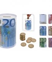 5 eurobiljet spaarpot 13 cm trend