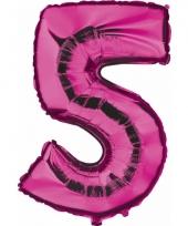 5 jaar versiering cijfer ballon trend 10062693
