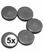5 ronde magneten 20x5 mm trend