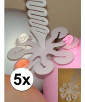 5 troshangers voor 8 ballonnen trend