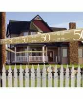 50 jaar decoratie markeerlint trend