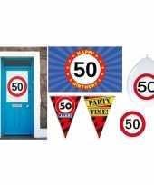 50 jaar feestpakket voor sarah abraham trend