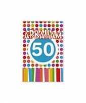 50 jaar uitnodigingen abraham trend