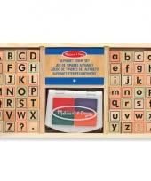 57 delige stempelset alfabet trend