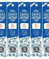 5x gaias incense luxe wierook stokjes nag champa original geur trend