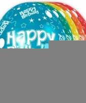 5x happy birthday heliumballonnen 30 cm trend