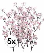 5x namaak appelbloesem roze 104 cm trend