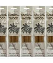 5x pakje jiri and friends luxe wierook stokjes sandelhout geur trend