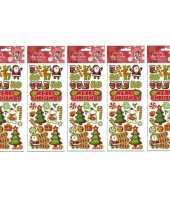 5x stickervellen kerst thema trend