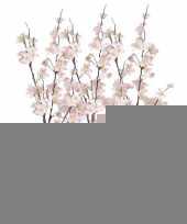 5x tak met roze appelbloesems 84 cm trend