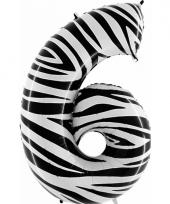 6 jaar versiering cijfer ballon trend 10062667