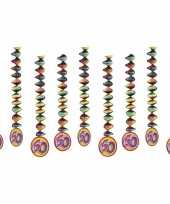 60 jaar decoratie spiralen 9x trend