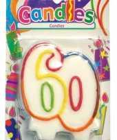 60 jaar feest kaars trend