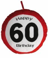 60e verjaardag kussentje trend